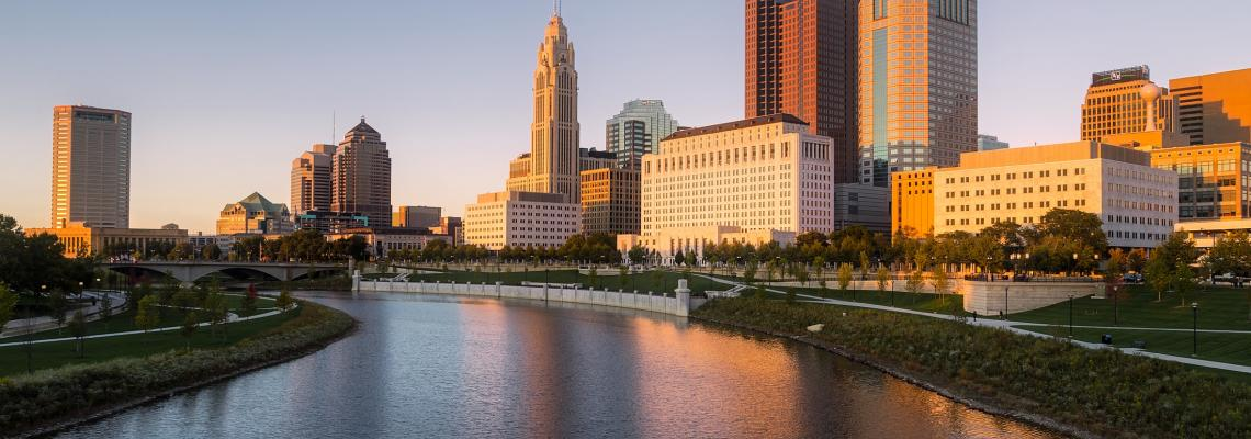 Ohio Skyline from the Scioto River